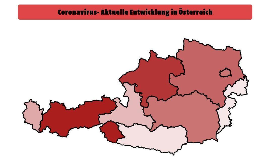 Corona Karte österreich Aktuell